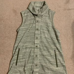 Matilda Jane heathered green vest